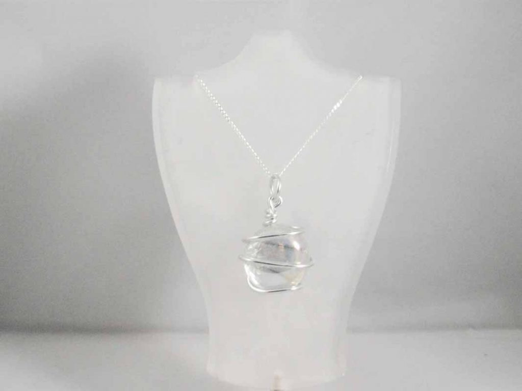 Clear Glass Pendent